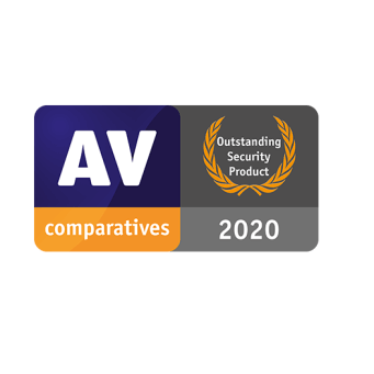 AV Comparatives Outstanding Security Product 2019